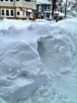 Snow Forts! Memories! Can I play?